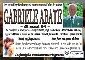lutto abate