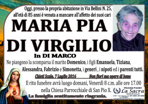 lutto di virgilio