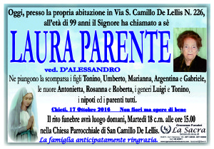 lutto parente