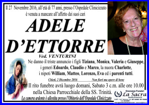 lutto d'ettorre adele