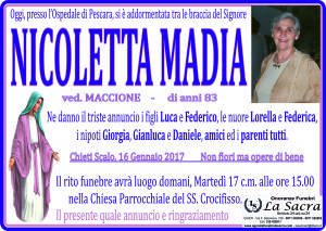 lutto madia