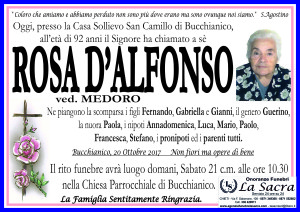 lutto rosa d'alfonso